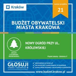 Budżet Obywatelski Miasta Krakowa 2019