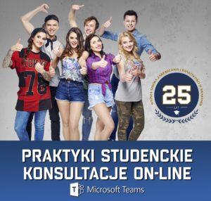 Praktyki studenckie – konsultacje online