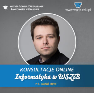 Informatyka w WSZiB – konsultacje