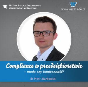 Compliance w przedsiębiorstwie – moda czy konieczność?