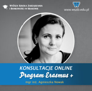 Program Erasmus + – konsultacje