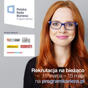 Program Kariera – płatne staże w Polsce!